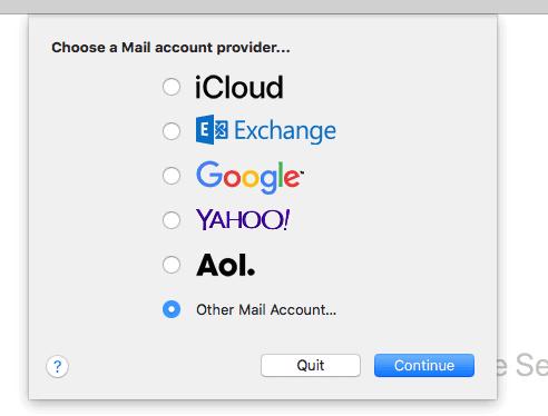 E-mail instellen: Apple Mail 2