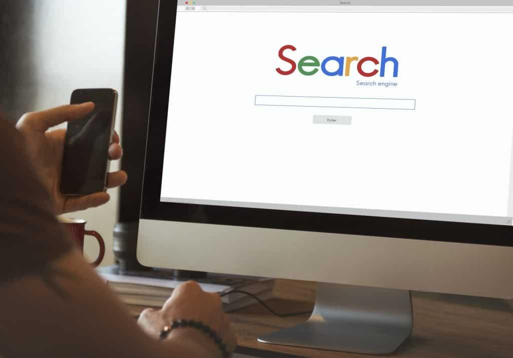 Search Searching Online Network Website Concept