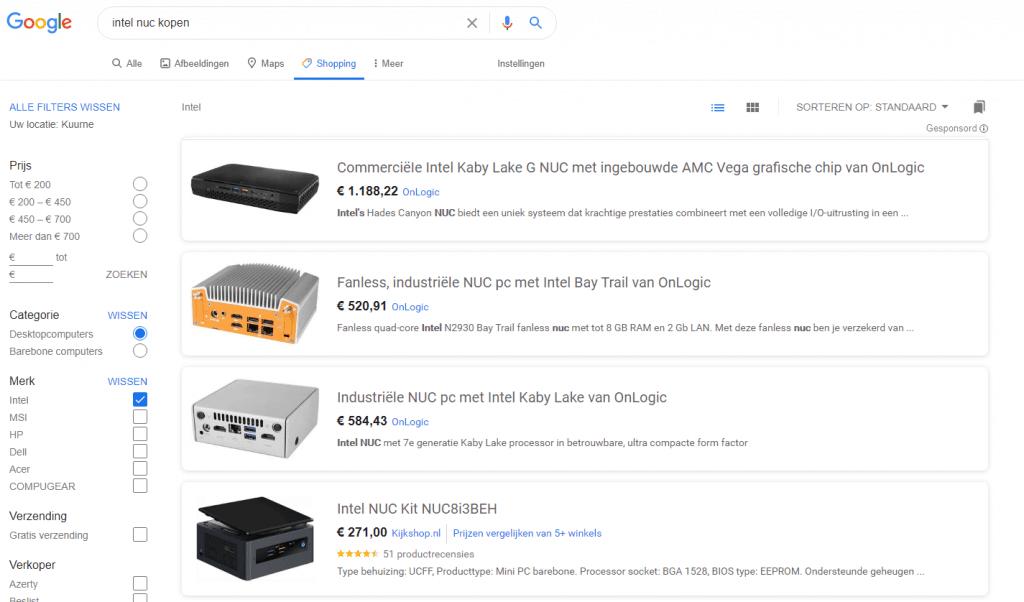 Verkoop gratis je producten via Google Shopping 1